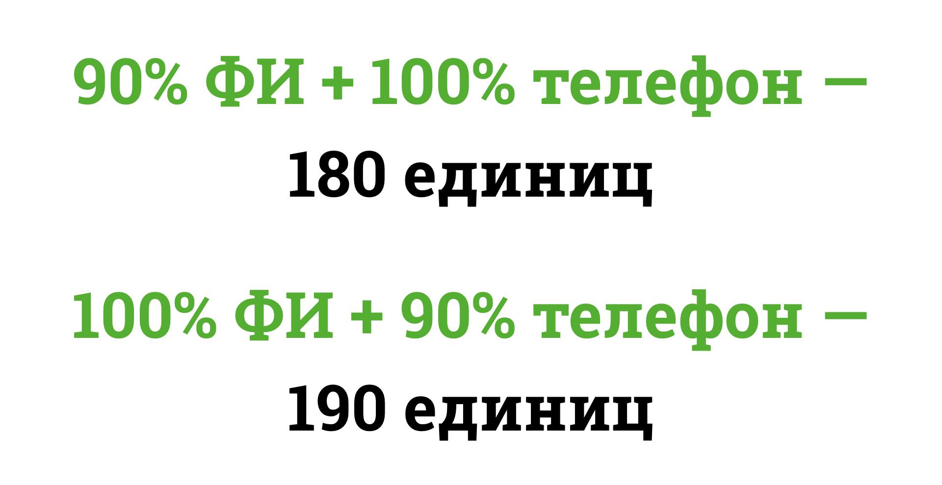 При когнитивном подходе коэффициент «похожести» зависит от контекста различий