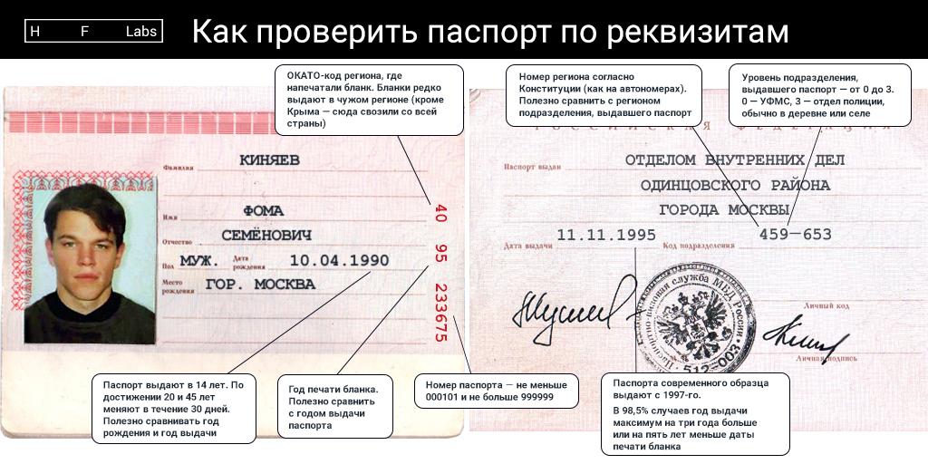 Проверить паспорт надействительность— одной картинкой
